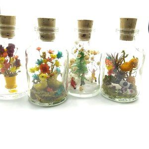 Other - Bundle of 4 Seasons Diarama in a Bottle! Miniature